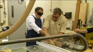 The Blind Man St George Utah Gov Spends Morning Working As Blind Man To Recognize Disability
