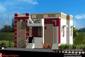 contemporary indian style villa elevation 1900 square feet