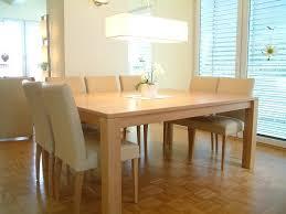 Tisch Buche 4 Fuß Esstisch Variato 185 X 135 Cm Mit 2 Ansteckplatten Der