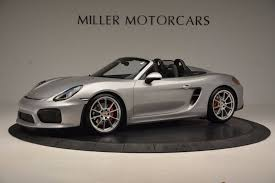 porsche boxster 2016 interior 2016 porsche boxster spyder stock 4307a for sale near greenwich