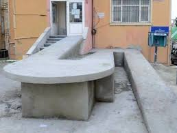 what goes on in the minds of wheelchair ramp designers anyway