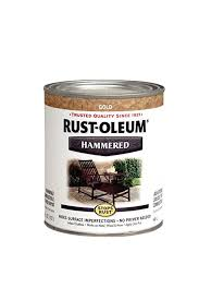 rust oleum 7210502 hammered metal finish gold rush 1 quart