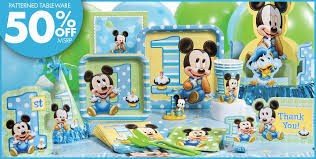 baby mickey 1st birthday mickey mouse 1st birthday decorations image inspiration of cake