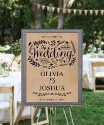 diy printable rustic wedding welcome sign diy rustic wedding
