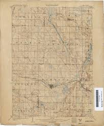 Wisconsin Lake Maps Historical Topographic Maps Perry Castañeda Map Collection Ut