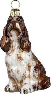pet set springer spaniel ornament for the