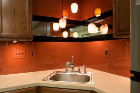 awesome colored glass backsplash kitchen gallery home design