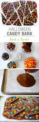 halloween m m candy halloween candy bark recipe candy bark bark recipe and