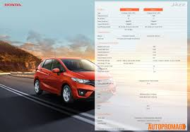 Honda Brio Launch Date All New Honda Jazz 2015 Launched Specification Price Features