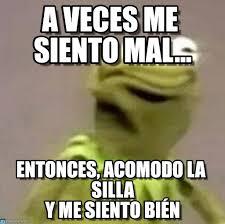 Memes Rana Rene - a veces me siento mal rana rene meme on memegen