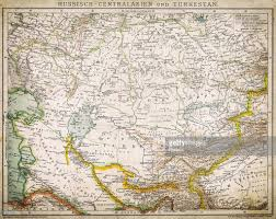 Russia And Central Asia Map by Russia Central Asia And Turkey Stock Illustration Getty Images
