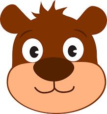 imagenes animadas oso oso dibujos animados cabello gráficos vectoriales gratis en pixabay