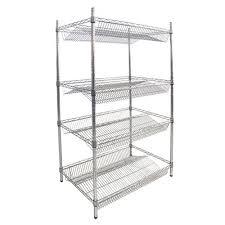 metal wire shelving shelves ideas