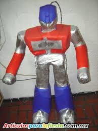 optimus prime pinata figura optimus prime