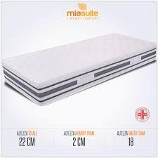 materasso ergonomico significato il materasso ergonomico singolo sommo 礙 composto da 2 strati una