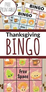 free printable thanksgiving bingo views from a step stool