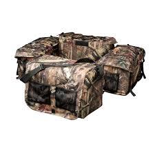 raider deluxe mossy oak infinity camouflage atv rack bag atv 17 1