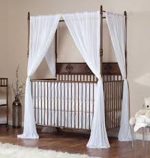 Crib Canopy Crown by White Iron Baby Crib Cribs Decoration