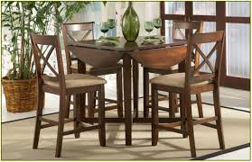dark brown round kitchen table kitchen drop leaf kitchen table with round stools set and chairs