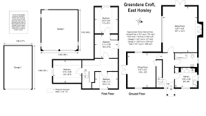 Sq Mt Sq Ft by 4 Bedroom Detached House For Sale In Green Dene East Horsley