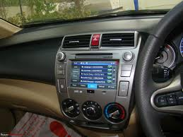honda city a close look at the factory fitted audio video