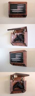 american flag gun cabinet cabinets and safes 177877 hidden gun storage key rack vintage