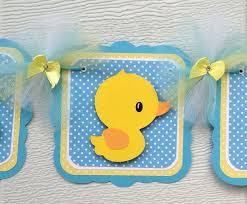 Welcome Home Baby Boy Decorations Rubber Duck Door Hanger Baby Shower Door Hanger Etsy Crafty