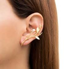 ear clasp sterling silver ear cuff earring statement earring cuff ear