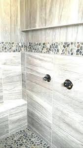 bathroom floor and shower tile ideas fashionable pebble floor shower somerefo org
