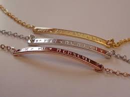silver monogram bracelet monogram bracelet numeral bar bracelet gold silver