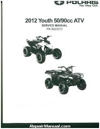 2012 polaris outlaw 50 outlaw 90 and sportsman 90 service manual