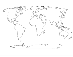 Free World Map Diagram Free Collection Simple World Map Worksheet Best Of And