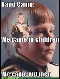 Clarinet Player Meme - expose your sexy skin woman pinterest marching band memes