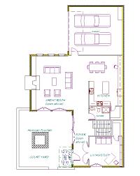 corner lot floor plans moretrees plan 7 courtyard house rosemary waterfront