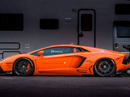 lamborghini aventador features orange liberty walk lamborghini aventador is truly extraordinary
