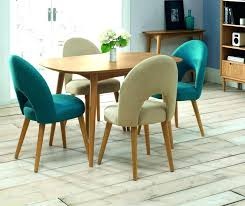 Teal Dining Room Chairs Phenomenal William Hefner Coco Dining Chair Ideas Blue Fabric Teal