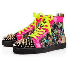 lou pik pik men u0027s flat version multi calfskin men shoes