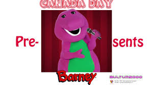 canada day presents barney youtube