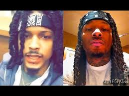 hair like august alsina montana of 300 reacts to august alsina jacking his look youtube