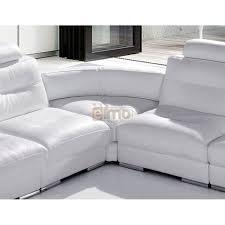 canape en solde soldes canapé cuir canapé d angle blanc design contemporain promo
