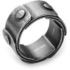 stainless steel rings for men men s diesel stainless steel ring size u dx0757040512