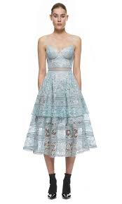 designer dresses sale self portrait paisley midi dress in icy blue sp12 036b 239 00