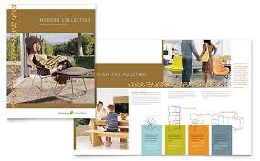 Office Furniture Brochure by Furniture Store Brochure Template Design