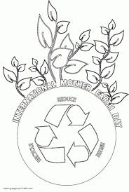 earth day coloring pages ppinews co