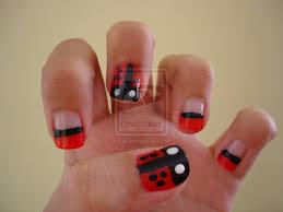 toe nail art ladybug ladybug nail art by deborasaraiva on