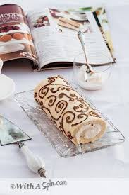 patterned swiss roll step by step নকশ
