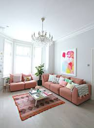 Pink Sofa Com Littlebigbell How To Style A Pink Sofa My Coral Pink Sofa From Dfs