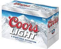 coors light 36 pack price coors light 36 pack cooler bag beer and beverage depot