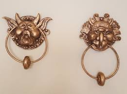 Great Knockers by The Labyrinth Door Knockers Pair Left And Right