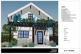 Small Cottage Plan No 37 The Ballard 800 Sq Ft 2 Story Cottage Plan U2014 Small